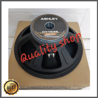 Unik SPEAKER 15 INCH ASHLEY CY1535 KARAKTER MID BASS ORIGINAL Limited