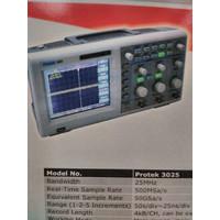Digital Storage Oscilloscope Protek 3025 Top Seller Best Selling