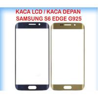 Kaca TouchScreen TS Layar Sentuh Kaca Depan LCD Samsung S6 Edge G925