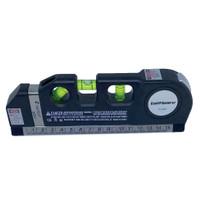 Penggaris Laser Horizontal 250CM + Waterpass