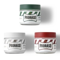 ORIGINAL PRORASO PRE SHAVING CREAM EUCALYPTUS GREEN TEA SANDALWOOD