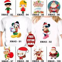 Kaos Natal Christmas Xmas Anak Dewasa Custom Couple FREE NAMA (3)