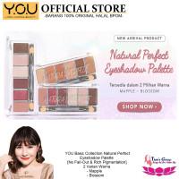 Eyeshadow Palette YOU Kosmetik Basic Collection Natural Perfect - 001
