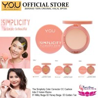 CC Cushion You Make Up The Simplicity Color Corrector - 01 Milky Beige