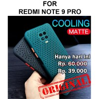 Soft Case Xiaomi Redmi Note 9 Pro 9s Max casing cover anti panas AERO - Hitam