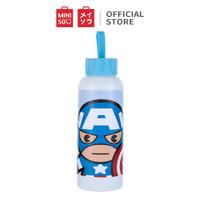 MINISO Marvel Botol Minum Tempat Tumbler Tumblr Kaca Buram 300ml