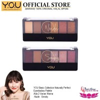Eyeshadow YOU Make Up Basic Collection Naturally Perfect Palette - Nude