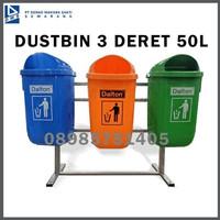 Tempat Sampah Dustbin 3 Deret Dinas Perkantoran dan Perumahan