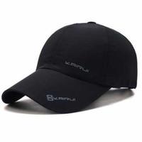 KAIRUI Topi Baseball Visor Sport Fashion Hat - MZ237 - Hitam
