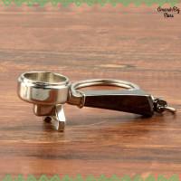 Kisshome Gantungan Kunci Aksesoris Kopi Barista Keychain - V587