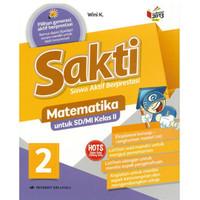 Buku, Sd/Mi Kl.Ii Sakti Matematika Jl.2 K/13N Rev⭐57501