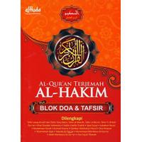 Buku, Al Quran Terjemah Besar Plus Doa&Tafsir Al Hakim Hc⭐57352