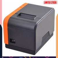 UniK Xprinter POS Thermal Receipt Printer 58mm - XP-T58L - Black