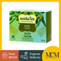 Body Soap Mustika Ratu Olive Oil Zaitun - 85 gr / Sabun Mandi