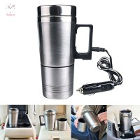 Water Heater Mug Car Electric Kettle Heated Stainless Steel Car