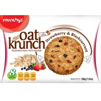 Munchy's Oat Krunch Strawberry & Blackcurrant 208 g