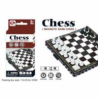 MAINAN JADUL CATUR MAGNET PAPAN LIPAT MAGNETIC GAME CHESS S1102
