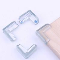 Silicone Bumper Pengaman Siku Sudut Meja 10pc -SE13