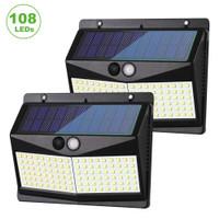 Lampu Solar Panel Sensor Gerak 108 LED -SN86