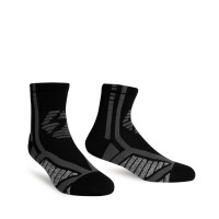 StayCool - Kaos Kaki Running Unisex Blade Quarter Black - M