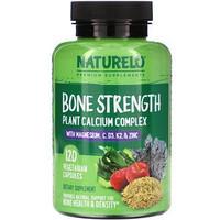 NATURELO Bone Strength Plant-Based Calcium Complex 120 Capsules