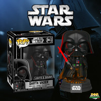 Funko POP! Star Wars - Darth Vader Electronic with Sound and Light