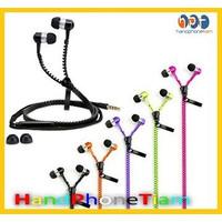 Headset Zipper Model Resletting Besi - Handsfree Earphone Triplle Bas