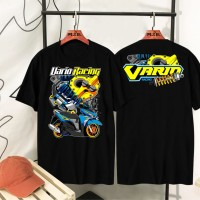 DANIYAL DISTRO - VARIO RACING BLACK - Hitam, all size