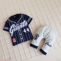 BunBa Setelan Bayi 1/2-6 tahun Baju Laki-laki IMK Motif Giant Terbaru