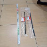 Karet Wiper Set Depan Belakang Jazz GE8 2008-2013 Genuine!!
