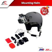 Mounting Helm aksesoris helm motovlog mount action cam Helem Helmet ou
