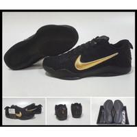limited Jual Hot Items Sepatu Basket Nike Kobe11 Flyknit Low Black