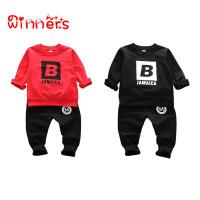(PROMO) winners Autumn Baby Boy Girl Letter Pattern Sweatshirt with