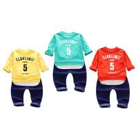 (PROMO) Autumn Baby Boy Girl Letter Pattern Long Sleeve Sweatshirt