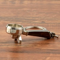 Gantungan Kunci Aksesoris Kopi Barista Model Coffee Handle Portafilter