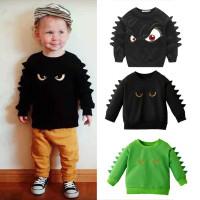 (PROMO) Sweater Kaos Lengan Panjang Bayi Laki-laki Motif Kartun
