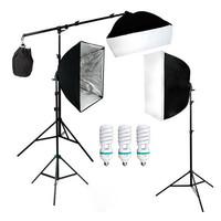 TaffSTUDIO Photography Foto Studio Lighting Kit Youtube Vlog - D-HZ7