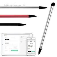 bjkangzhengaa 1Pc Pen Stylus 2 in 1 Universal untuk Tablet / PC