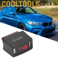 Durable ABS OBD MINI Dual USB Charger Socket with WidgetShop