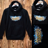 SWEATER ML HOODIE MOBILE LEGEND BEST SELLER JAKET PRIA WANITA - anak usia 11-12