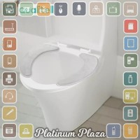 Youpin Qualitell Toilet Seat Mat Cover Dudukan WC Warm `3O0T51- White