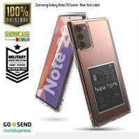 Ringke Samsung Galaxy Note 20 Fusion New York Label Tough Slim Armor