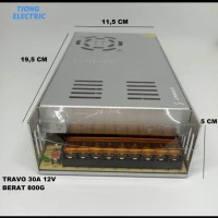 Power Suply Travo Adaptor CCTV 12V 30 Ampere 30A