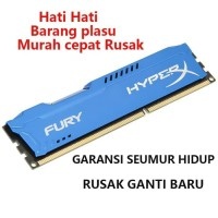RAM KINGSTON HYPER X FURY GAMING LONGDIMM DDR3 8GB PC 12800