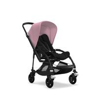 Bugaboo Complete Stroller Bee5 Black/Black - Soft Pink