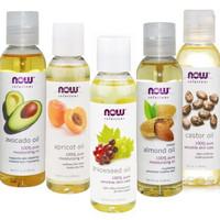 Now Foods Solution Grapeseed Almond Castor Jojoba Apricot oil 118ml