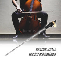 B&Y ☞♪♪ Professional 3/4 4/4 Cello StringsTailrod Endpin Tail