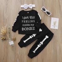 (PROMO) ♕ babyme Set 3Pcs Sweater Kaos Bayi Perempuan Lengan