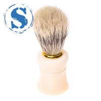 1pcs Shave Shaving Brush Plastic Handle + Boar Bristle Brush cream