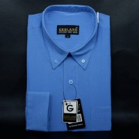 Kemeja Pria Man Shirt GEOLAND - Biru Laut